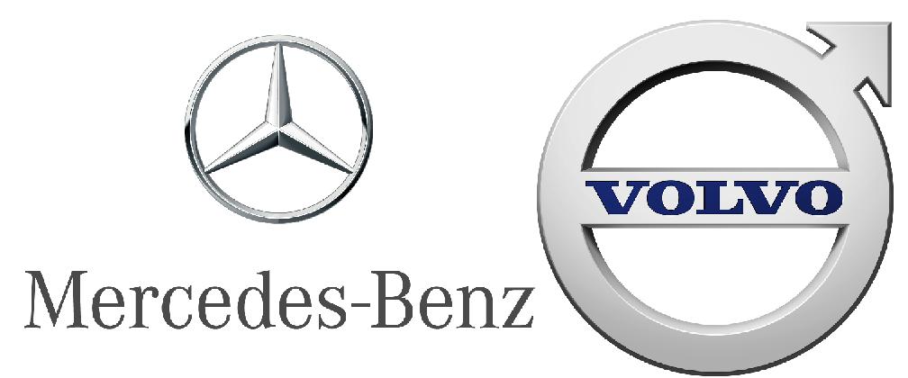 2019 TA Sponsors - Mercedes & Volvo